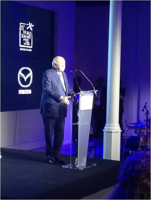 Organización evento premios Nobeles Mazda