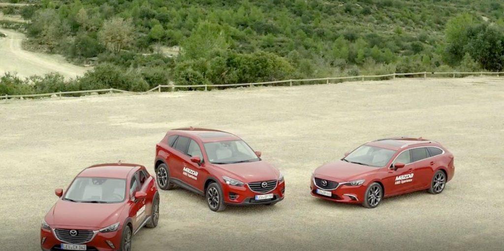 Organización evento corporativo Mazda