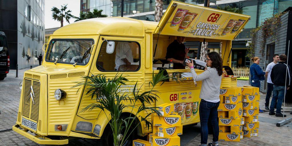Organización evento corporativo para empresas food truck GB food