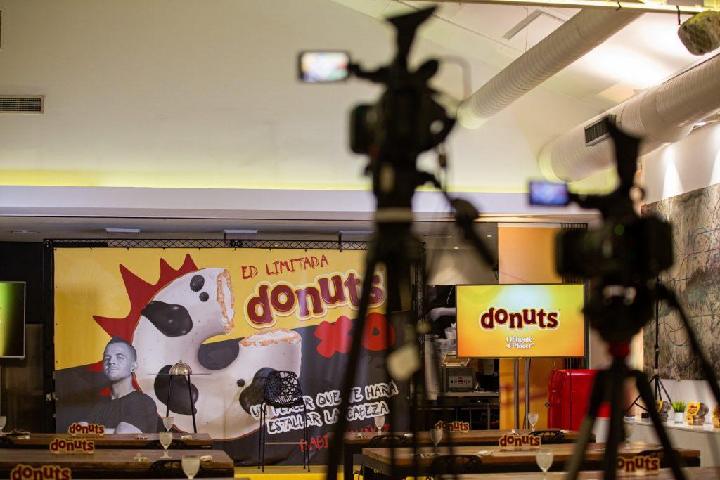 Presentación Donuts evento corporativo